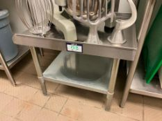"""24"""" STAINLESS STEEL EQUIPMENT STAND"""