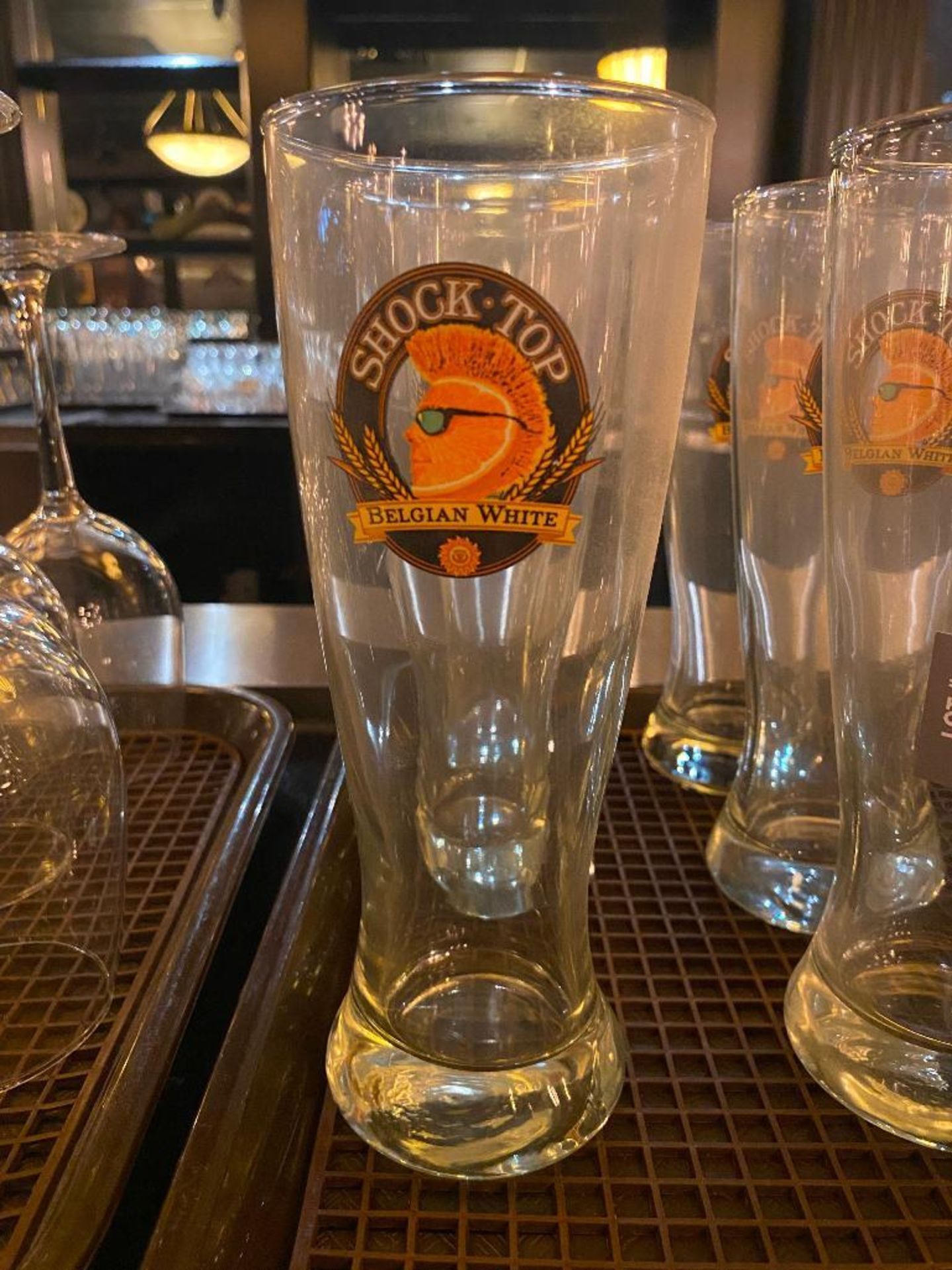 LOT OF (9) SHOCK TOP GLASSES - Image 2 of 2