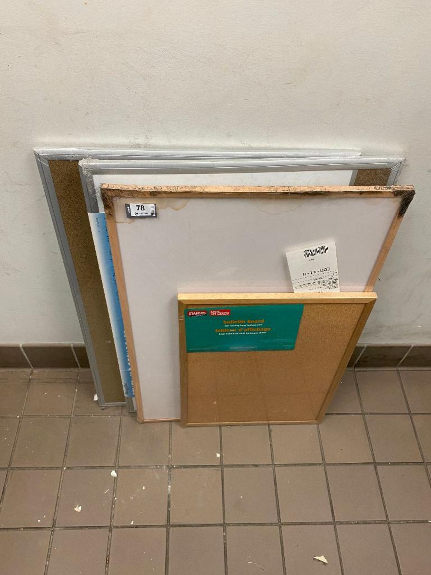 LOT OF (2) NEW WHITEBOARDS & (2) NEW CORKBOARD - Image 2 of 2