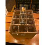 BOX OF SHOCK TOP BEER GLASSES
