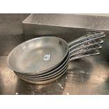 "LOT OF (5) 10"" VOLLRATH FRYING PANS"