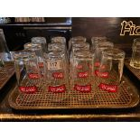 LOT OF (12) MILL ST. BREWERY PINT GLASSES