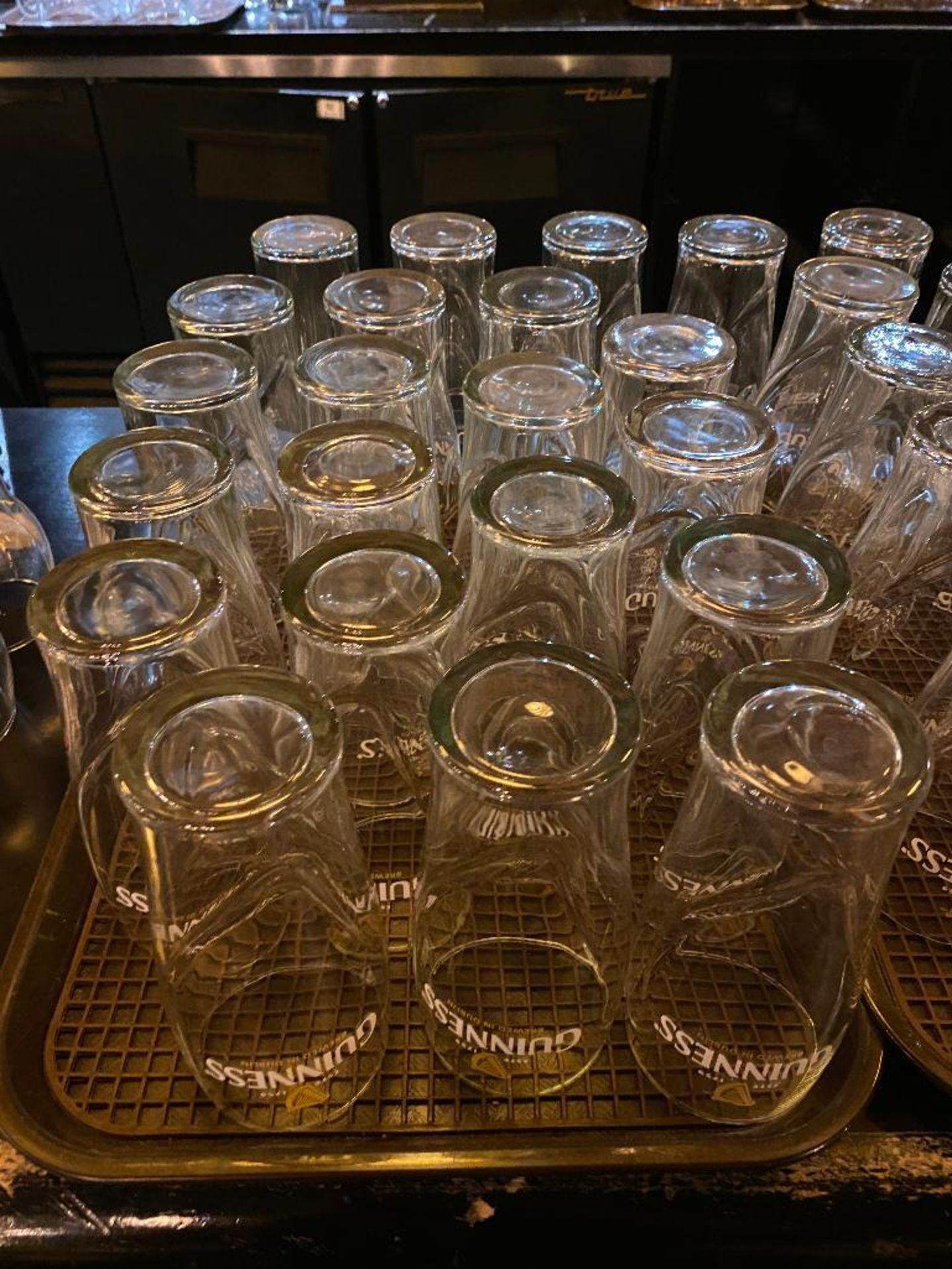 """3 DOZEN GUINNESS """"BREWED IN DUBLIN"""" PINT GLASSES - Image 3 of 3"""