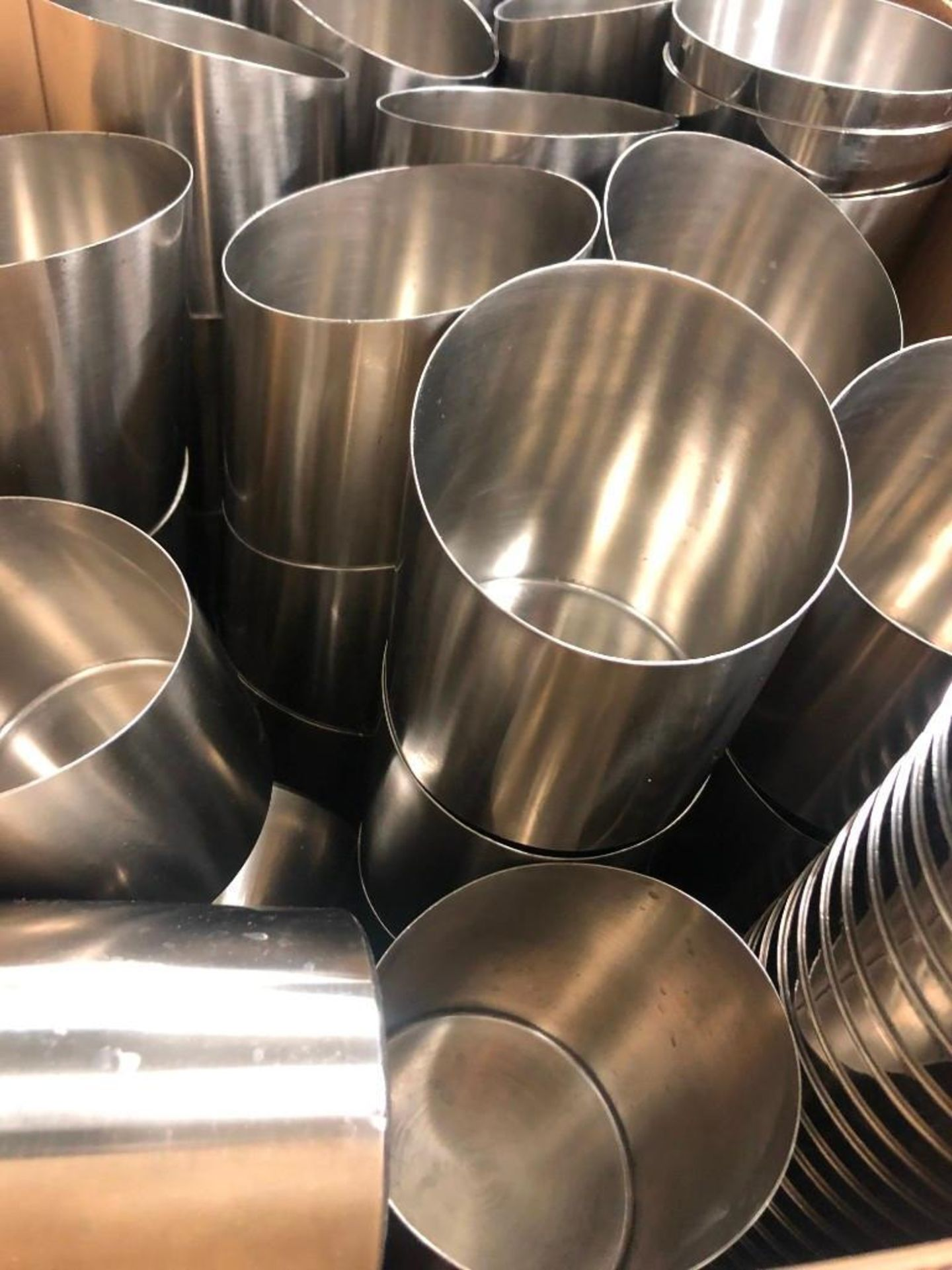 BOX OF STAINLES STEEL FRY & SLAW BOWLS - Image 2 of 2