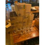 LARGE LOT OF UNIBROUE BEER GLASSES