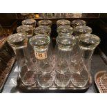 LOT OF (12) PINT GLASSES