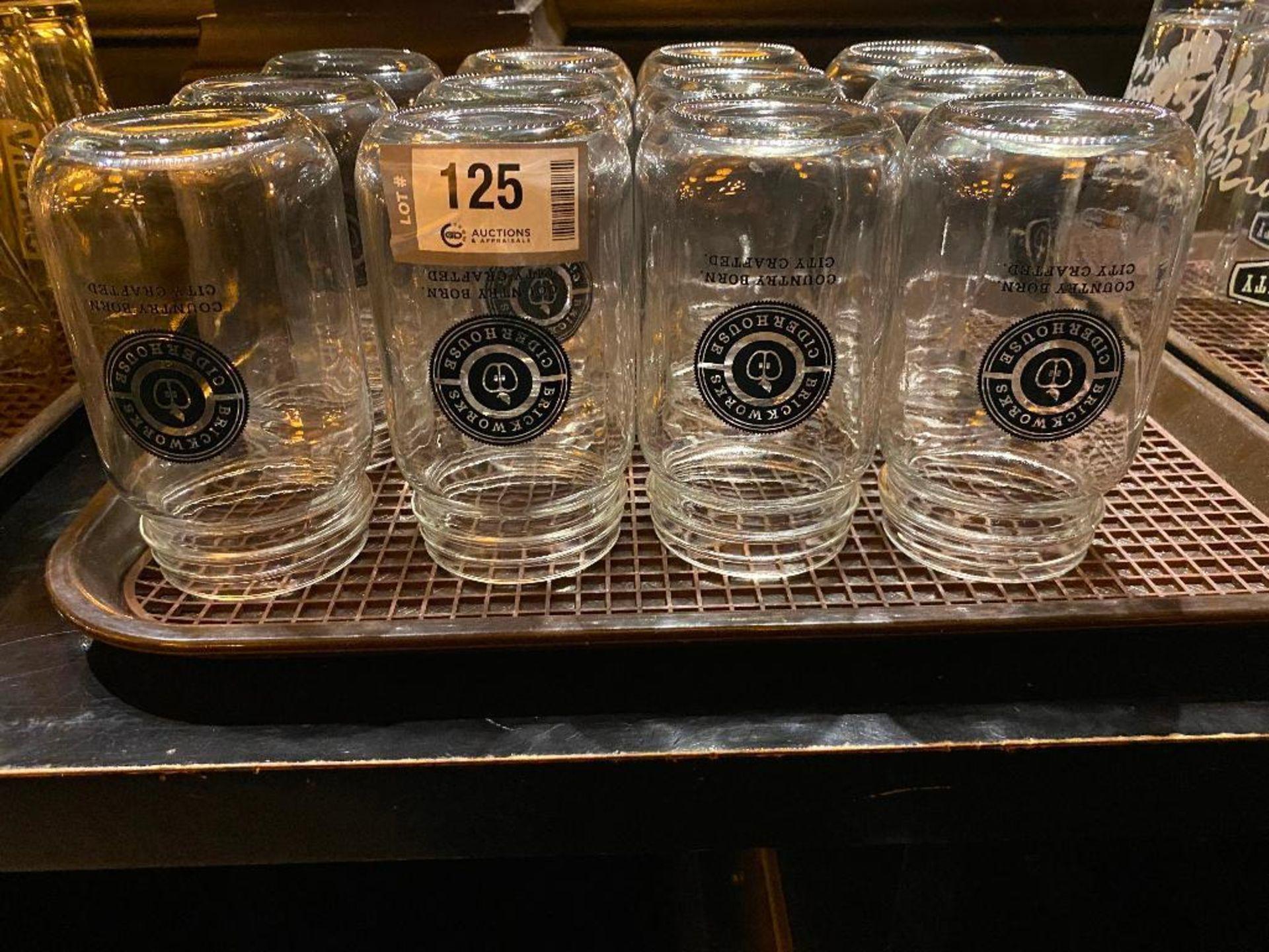 LOT OF (12) BRICKWORKS CIDERHOUSE MASON JAR GLASSES - Image 2 of 2