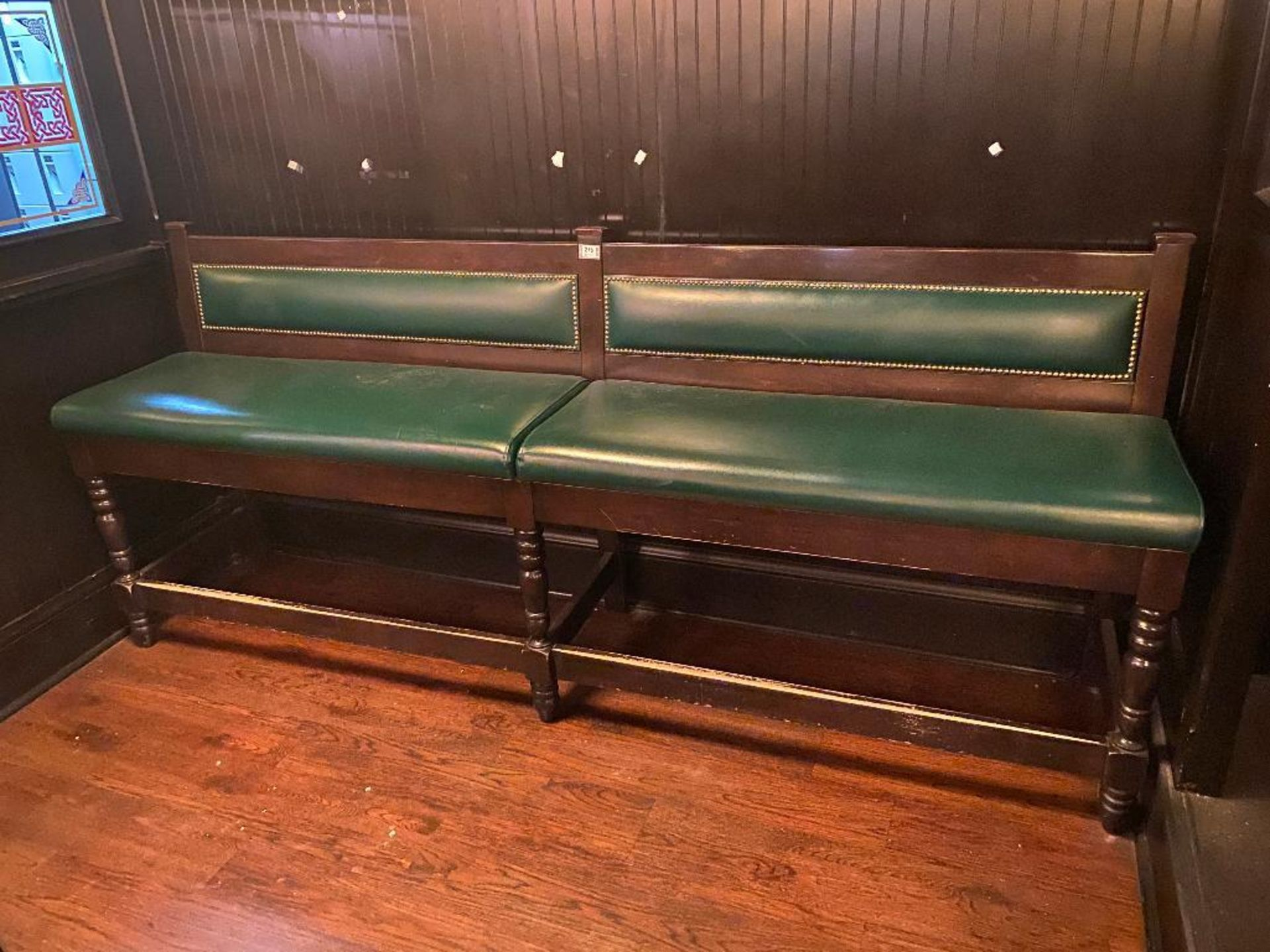 8' GREEN BAR HEIGHT BENCH - Image 2 of 3