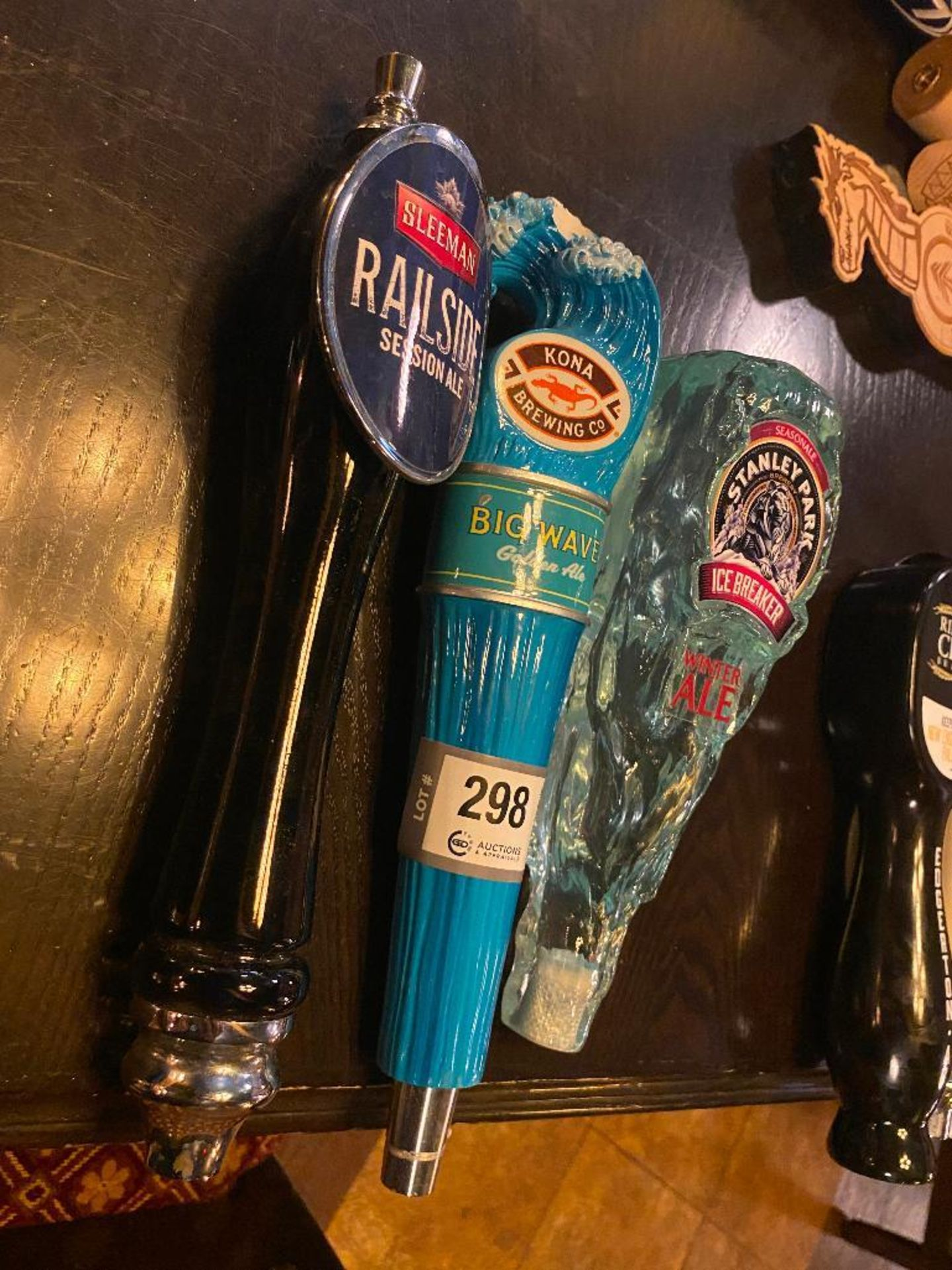 LOT OF (3) ASSORTED BEER TAPS - Image 2 of 3
