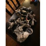 LOT OF ASSORTED DRAFT BEER FAUCET TAPS