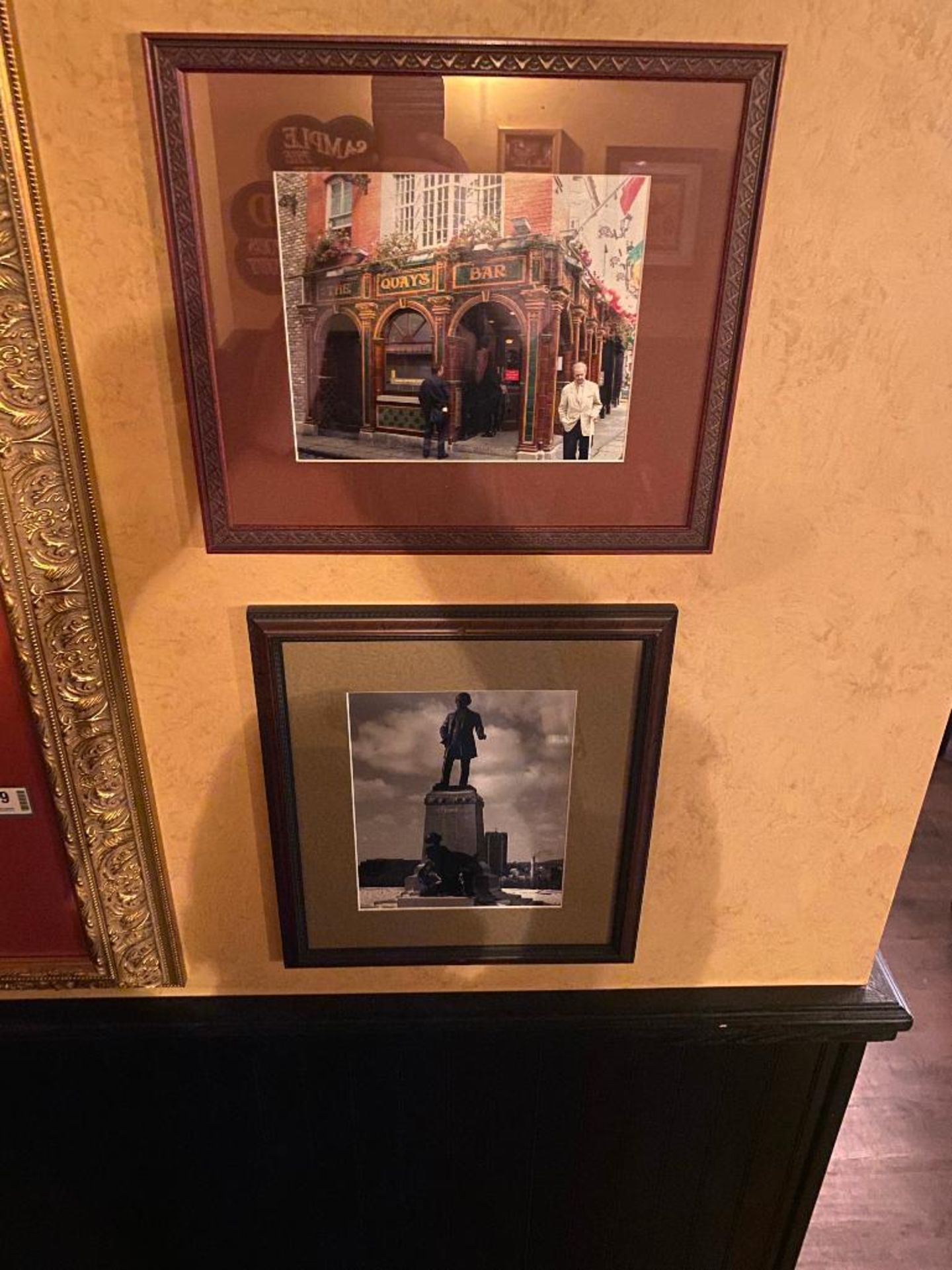 LOT OF (3) FRAMED MEMORABILIA PHOTOS - NOTE: REQUIRES REMOVAL FROM WALL, PLEASE INSPECT - Image 2 of 3