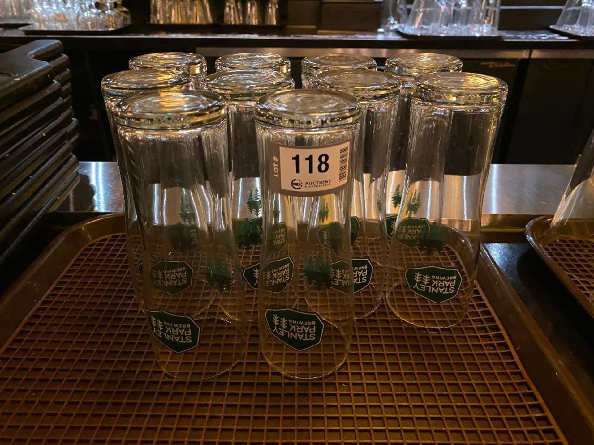 LOT OF (10) STANLEY PARK BREWING GLASSES - Image 2 of 2