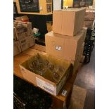 LOT OF (5) BOXES OF TREE BREWING CO. GLASSES