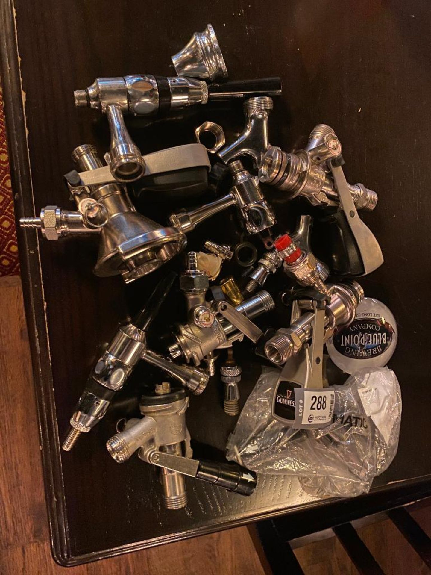 LOT OF ASSORTED DRAFT BEER FAUCET TAPS - Image 2 of 2