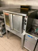 BLODGETT SHO-100-G GAS CONVECTION OVEN - NOTE: REQUIRES DISCONNECT, PLEASE INSPECT