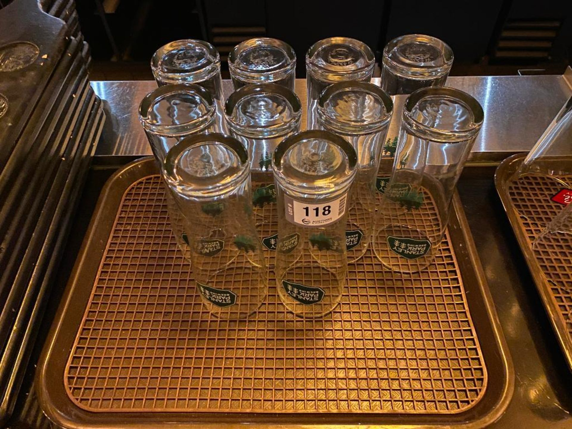 LOT OF (10) STANLEY PARK BREWING GLASSES