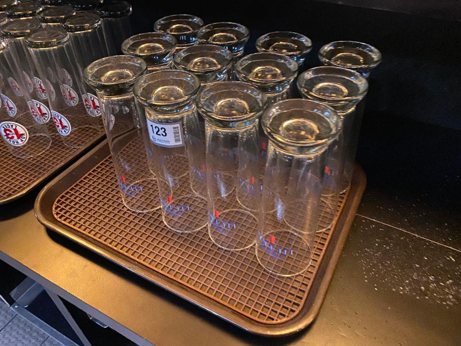 LOT OF (12) MICHELOB ULTRA GLASSES - Image 2 of 2