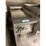 "VOLLRATH 12"" COUNTERTOP FLAT TOP - NOTE: REQUIRES DISCONNECT, PLEASE INSPECT"