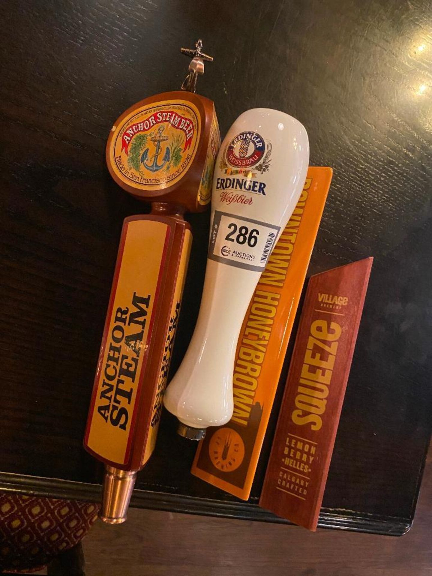 LOT OF (4) ASSORTED BEER TAPS - Image 2 of 4