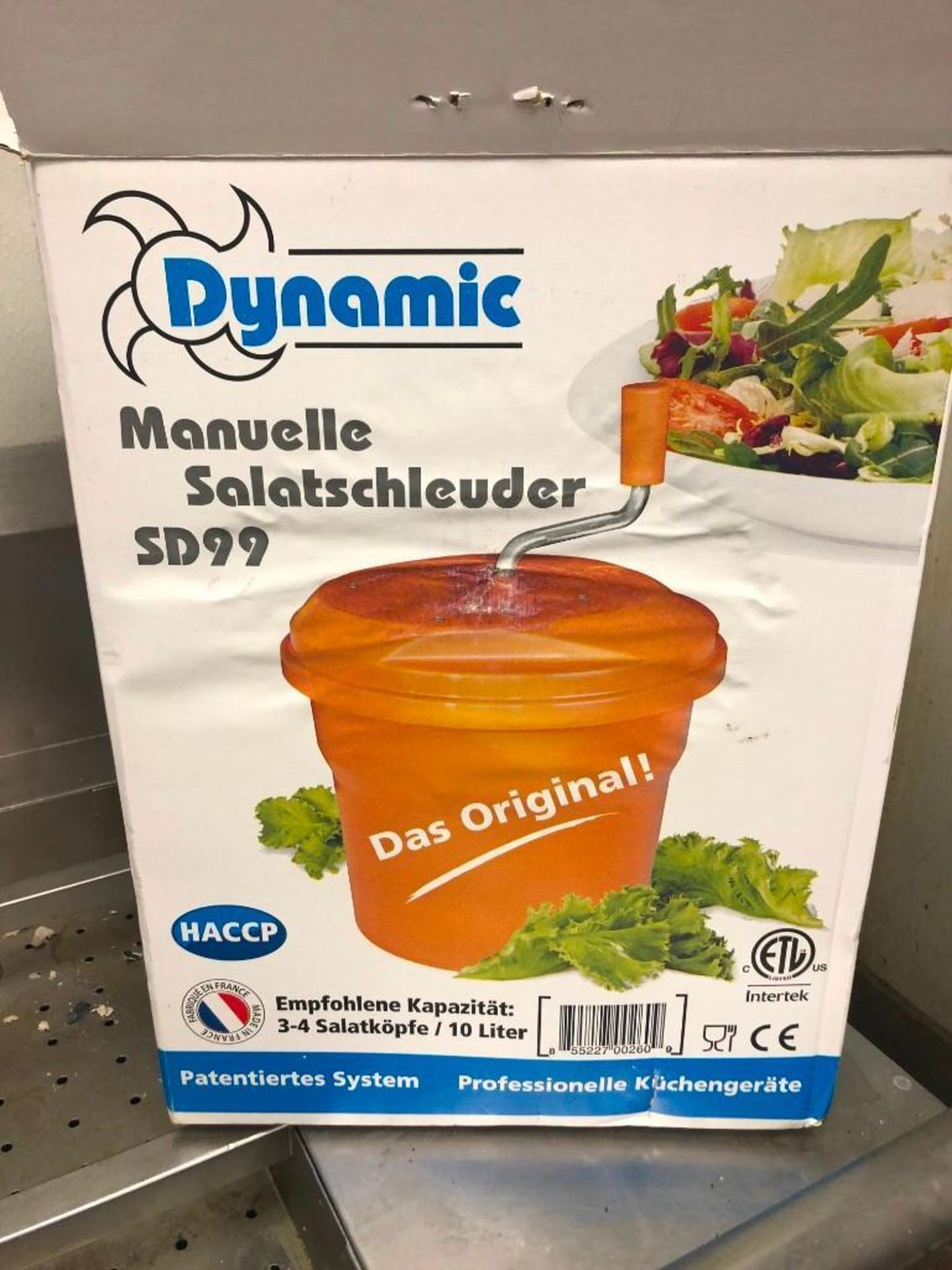 DYNAMIC 10L MANUAL SALAD SPINNER SD99 - Image 2 of 2