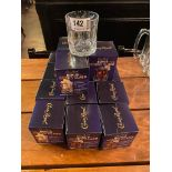 LOT OF (16) CROWN ROYAL ROCK GLASSES