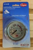 COOPER-ATKINS 3210-08 GRILL THERMOMETER, 100 TO 600 DEGREES F - NEW