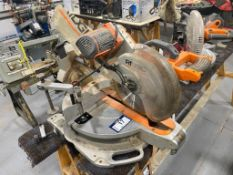 Ridgid MS1290LZA 12-Inch Compound Sliding Miter Saw with Laser