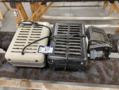 Lot of (3) Asst. Space Heaters