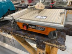 Ridgid R4020 7-Inch Table Top Wet Tile Saw