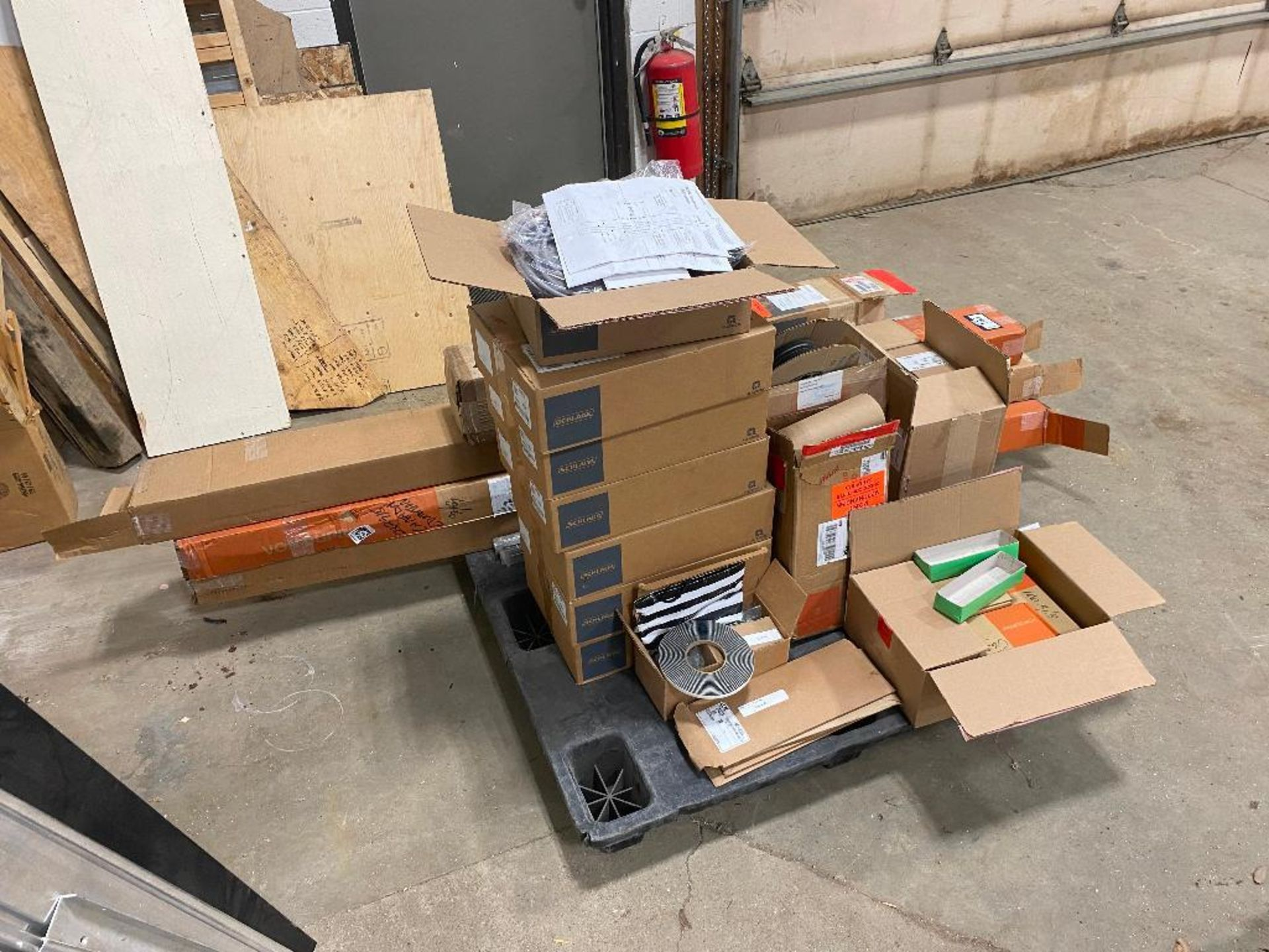 Pallet of Asst. Von Duprin Door Hardware, Thresholds, Schlage Power Supplys, etc. - Image 3 of 3