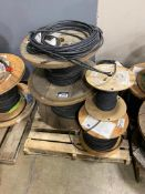 Pallet of (5) Spools of Asst. Electrical Wire
