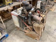 Dimas FS6600D Diesel Floor Saw, 2,211hrs Showing