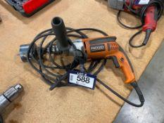 "Ridgid R7111 1/2"" Electric Drill"