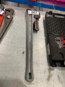 "Ridgid 24"" Aluminum Pipe Wrench"