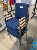 Lot of (6) Asst. Stacking Chairs