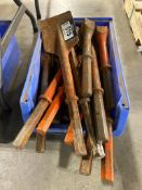 Lot of Asst. Hammer Bit Attachments, etc.