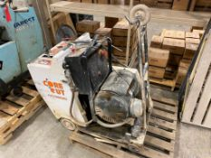 Core Cut CC3500, 30HP Electric Floor Saw, 543hrs Showing