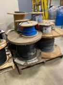 Pallet of Approx. (10) Spools of Asst. Electrical Wire