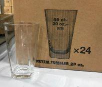 20OZ/591ML PRYSM COOLER GLASS, ARCOROC E5213 - 24 PER CASE