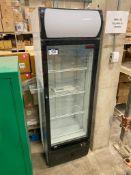 New-Air Glass Door Bottle Reach-In Cooler, NGR-036-H