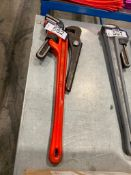 Lot of (2) Asst. Pipe Wrenches