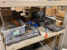 Lot of Asst. Tools including Sockets, Hammer, Level, etc.