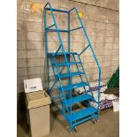 6-Step Mobile Warehouse Stairs