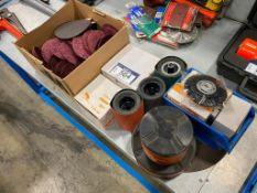 Lot of Asst. Abrasives including Sanding Wheels, Discs, Grinding Discs, etc.