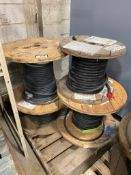 Pallet of (4) Spools of Asst. Electrical Wire