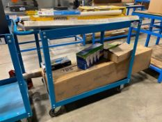 """2-Tier 36"""" Warehouse Shop Cart"""