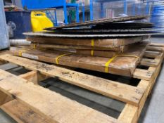 Pallet of Asst. New and Used Saw Blades,
