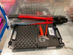 Lot of (2) Asst. Crimping Tools