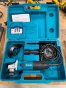 """Makita 4.5"""" Electric Angle Grinder w/ Case"""