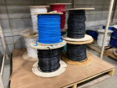 Pallet of Asst. 8AWG Electrical Wire